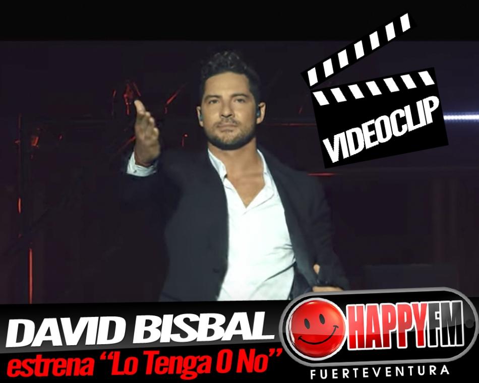 "David Bisbal presenta el videoclip de ""Lo Tenga O No"""