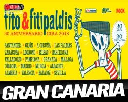 Único concierto de Fito Y Fitpaldis en Canarias en su gira 20 aniversario en Gran Canaria