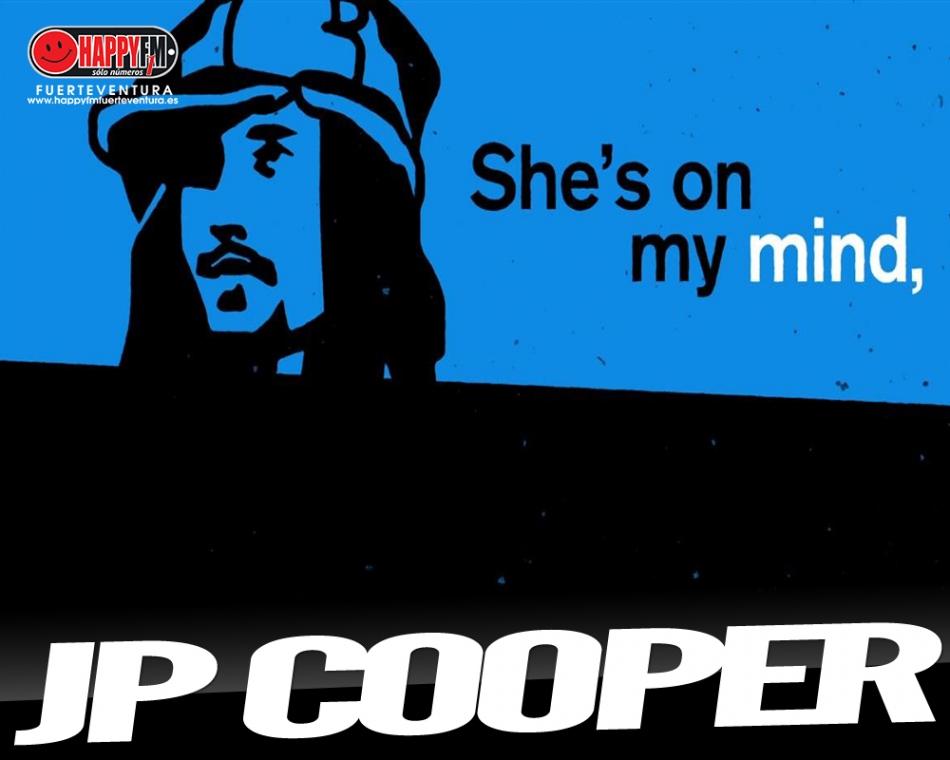 """""""She's On My Mind"""" es lo nuevo de JP Cooper"""