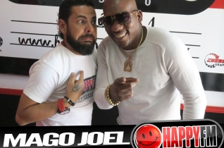 (fotos) Mago Joel en Happy FM Fuerteventura