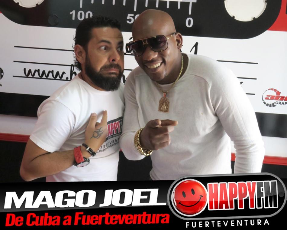 La magia invade los estudios de Happy FM con el Mago Joel