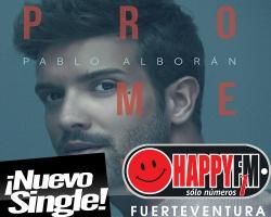 """""""Prometo"""" es lo nuevo de Pablo Alborán"""