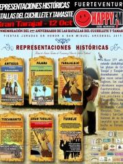 Representación Histórica de las Batallas del Cuchillete y Tamasite en Gran Tarajal