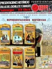 Representación Histórica de las Batallas del Cuchillete y Tamasite en Tuineje
