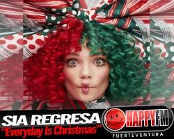Sia regresa con un álbum navideño