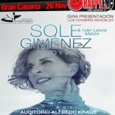 Concierto de Sole Giménez en Gran Canaria