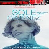 Concierto de Sole Giménez en Lanzarote