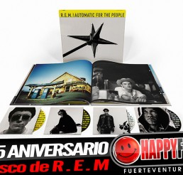 R.E.M  confirma la edición especial 25 aniversario de Automatic For The People