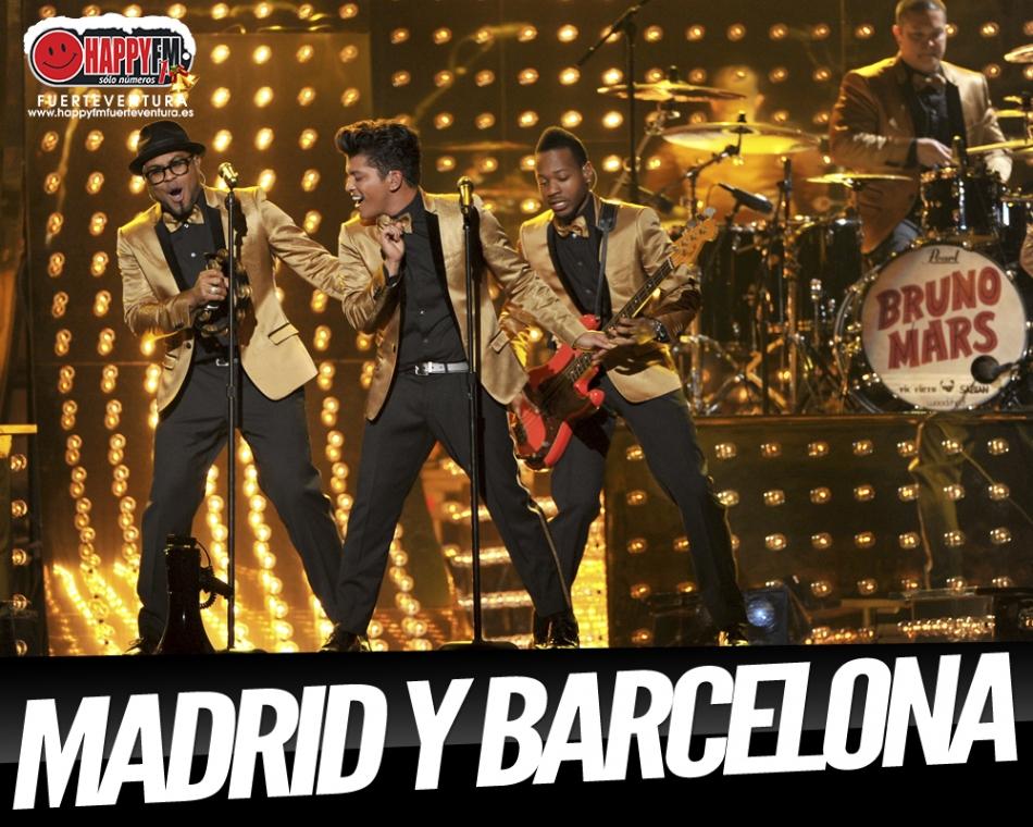 NOTICIÓN!!!! Bruno Mars ofrecerá dos únicos conciertos en nuestro país en 2018