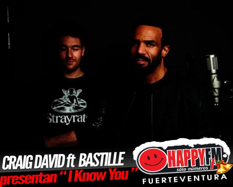 """""""I Know You"""" es lo nuevo de Craig David junto a Bastille"""