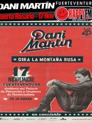Concierto de Dani Martín en Fuerteventura