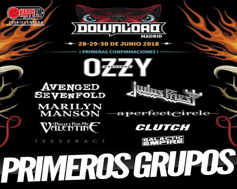 Primeros nombres del Download Festival Madrid 2018