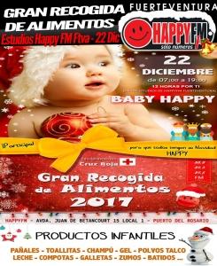 granrecogidadealimentos_babyhappy2017_happyfmfuerteventura