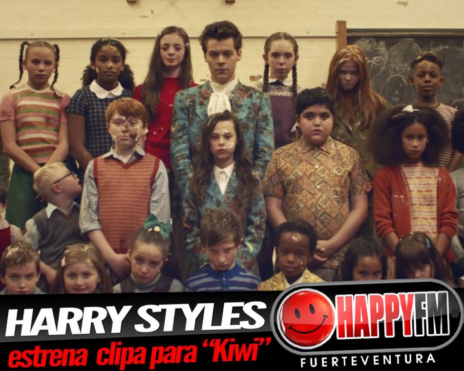 """Harry Styles estrena el videoclip de """"Kiwi""""… ¡¡¡tartas voladoras!!!!"""