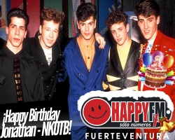 Jonathan Knight de New Kids On The Block está de cumpleaños