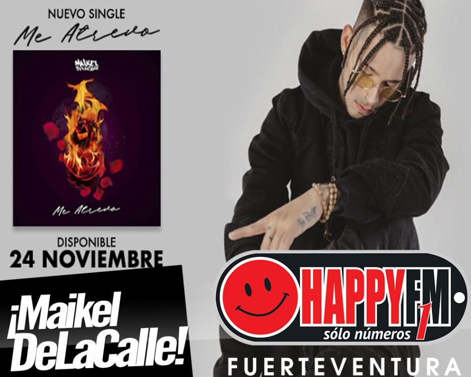 """A punto el nuevo single de Maikel DeLaCalle, """"Me Atrevo"""""""