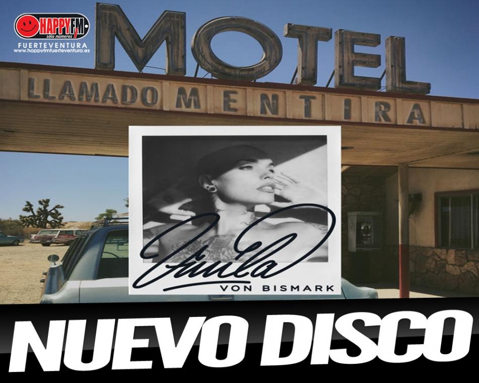"Vinila Von Bismark publica su disco ""Un Motel Llamado Mentira"""