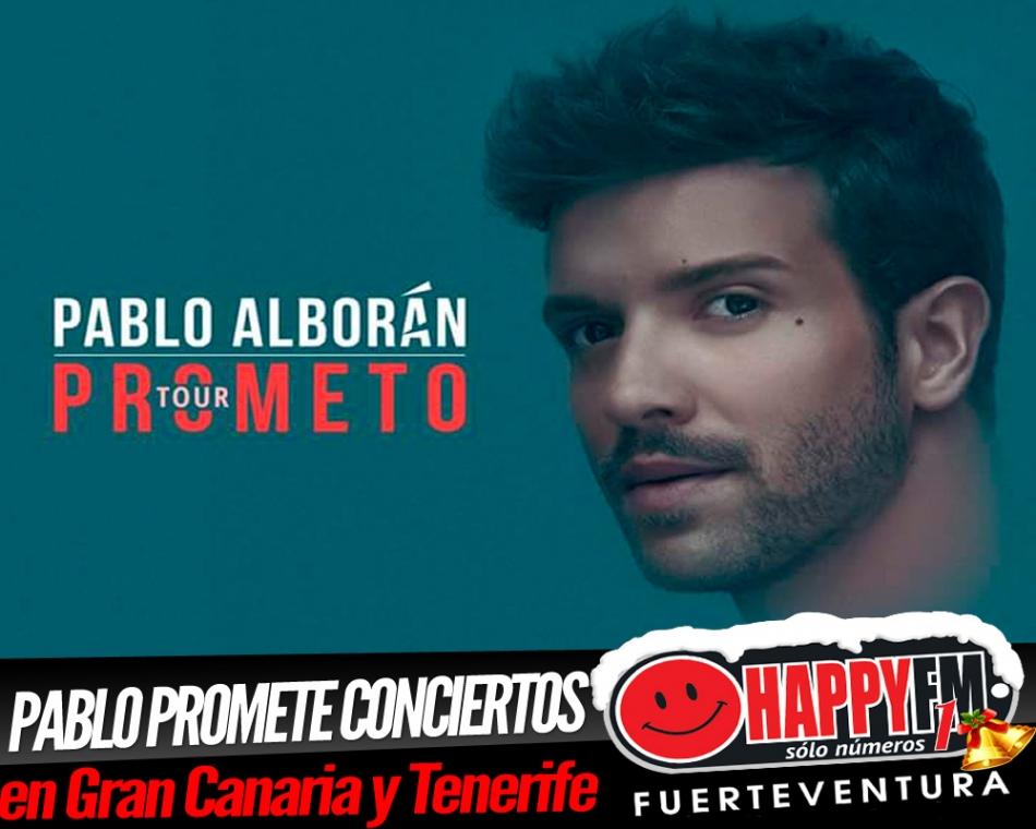 Pablo Alborán anuncia conciertos en Gran Canaria y Tenerife