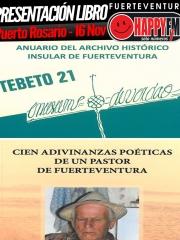 Presentación libro Cien adivinanzas poéticas de un pastor de Fuerteventura