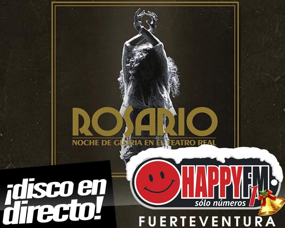 """Rosario Flores publica su disco en directo """"Noche de Gloria en el Teatro Real"""""""