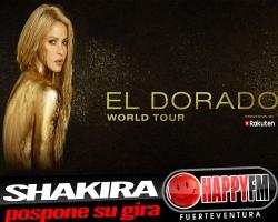 Shakira pospone los conciertos de su gira para 2018