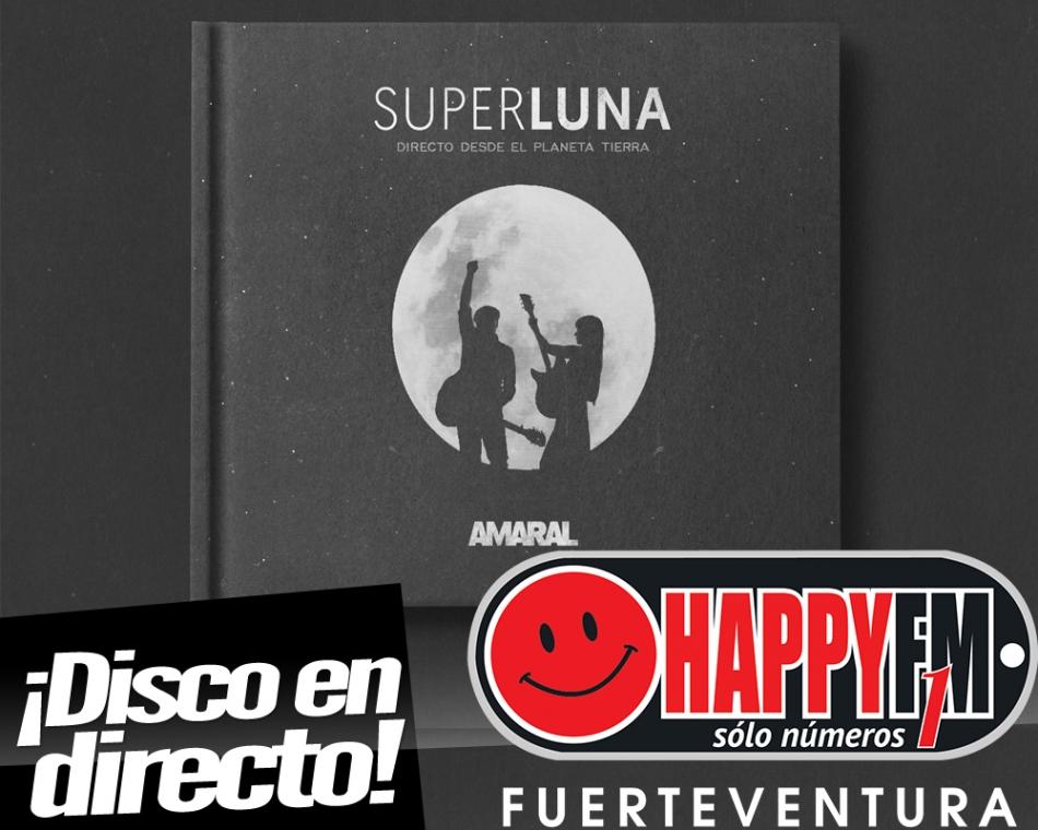"""Amaral presenta su disco en directo """"Superluna"""""""