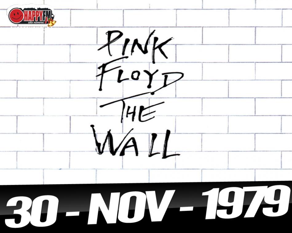 """Pink Floyd publica """"The Wall"""" el 30 de Noviembre de 1979"""
