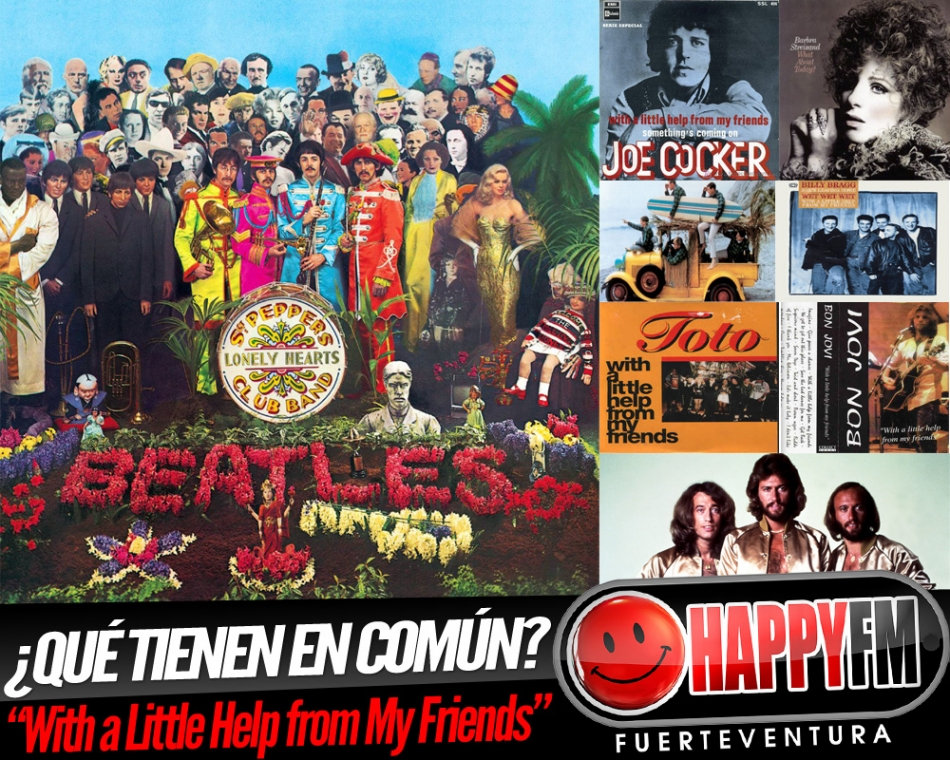 ¿Qué tienen en común The Beatles, Joe Cocker, The Bee Gees,  Barbra Streisand, The Beach Boys y Bon Jovi?