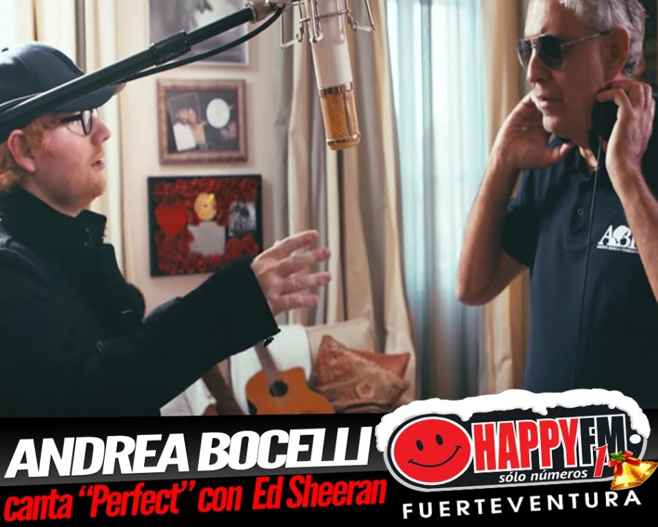 Andrea Bocelli se une a Ed Sheeran en una nueva versión de