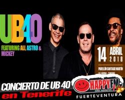 Concierto de UB40 en Tenerife