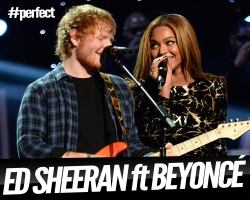 "Ed Sheeran publica el remix de ""Perfect"" ft Beyoncé"