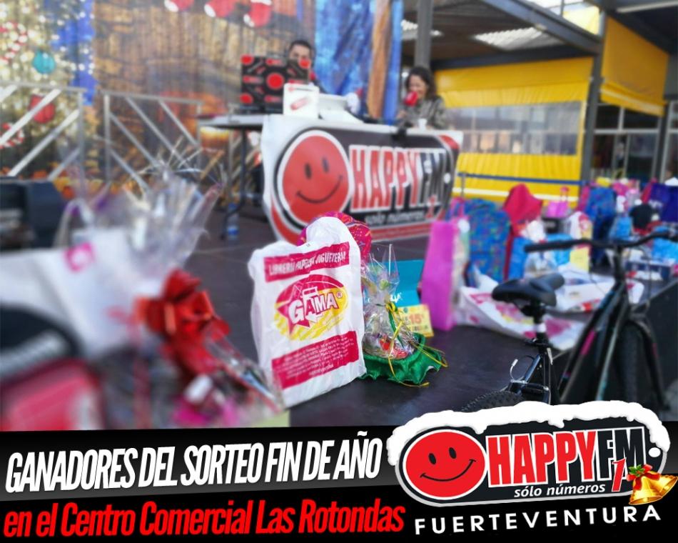 Ganadores del Sorteo Fin de Año desde el Centro Comercial Las Rotondas