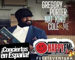 Gregory Porter anuncia conciertos en nuestro país