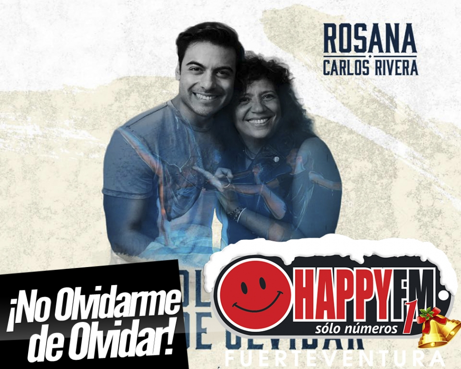 """Rosana y Carlos Rivera presentan """"No Olvidarme De Olvidar"""""""