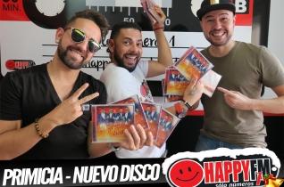 (fotos) Entrevista Grupo Bomba – Presentación Nuevo Disco en primicia en Happy FM Fuerteventura