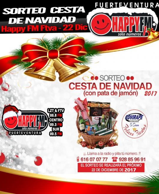 sorteo cesta navidad_happyfmfuerteventura_diciembre2017