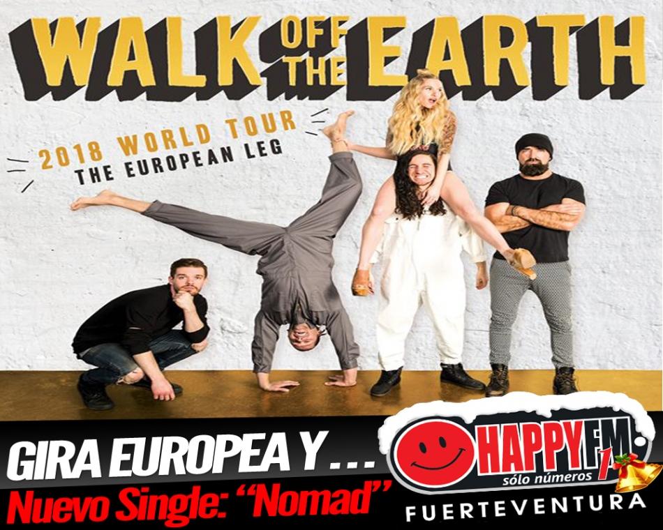 "Walk Off The Earth presenta ""Nomad"" y anuncia gira europea"