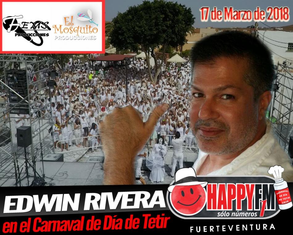 PRIMICIA!!!!! Edwin Rivera en el Carnaval de Día de Día de Tetir 2018