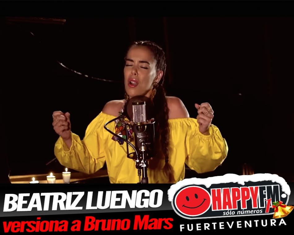 Beatriz Luengo versiona a Bruno Mars