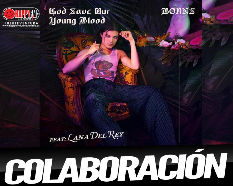 Borns estrena 'God Save Our Young Blood' acompañado de Lana del Rey