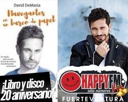 David Demaría celebra sus 20 años en la música con un disco en directo
