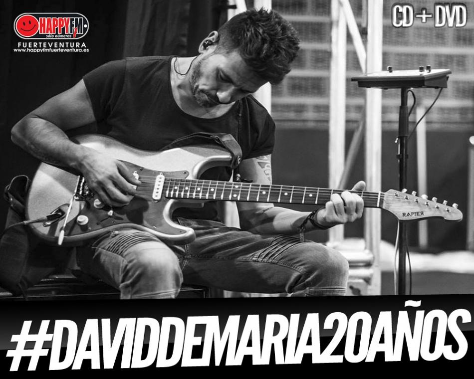 David Demaria publica un adelanto de su próximo disco aniversario