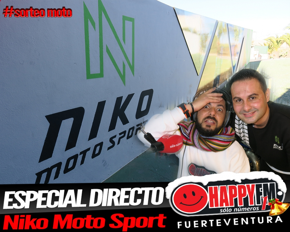 Especial Directo desde Niko Moto Sport sorteando una moto