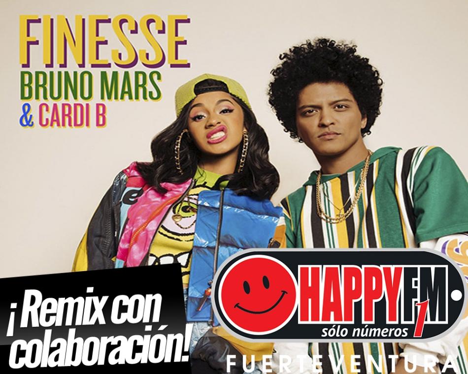 """Bruno Mars presenta """"Finesse"""" junto a Cardi B"""
