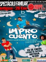 """Espectáculo Infantil en Antigua: """"Improcuento"""""""