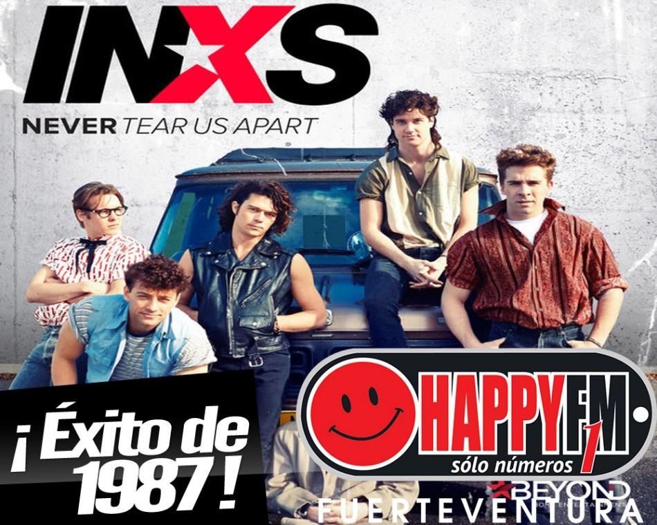 """""""Never Tear Us Apart"""", un éxito de INSX"""