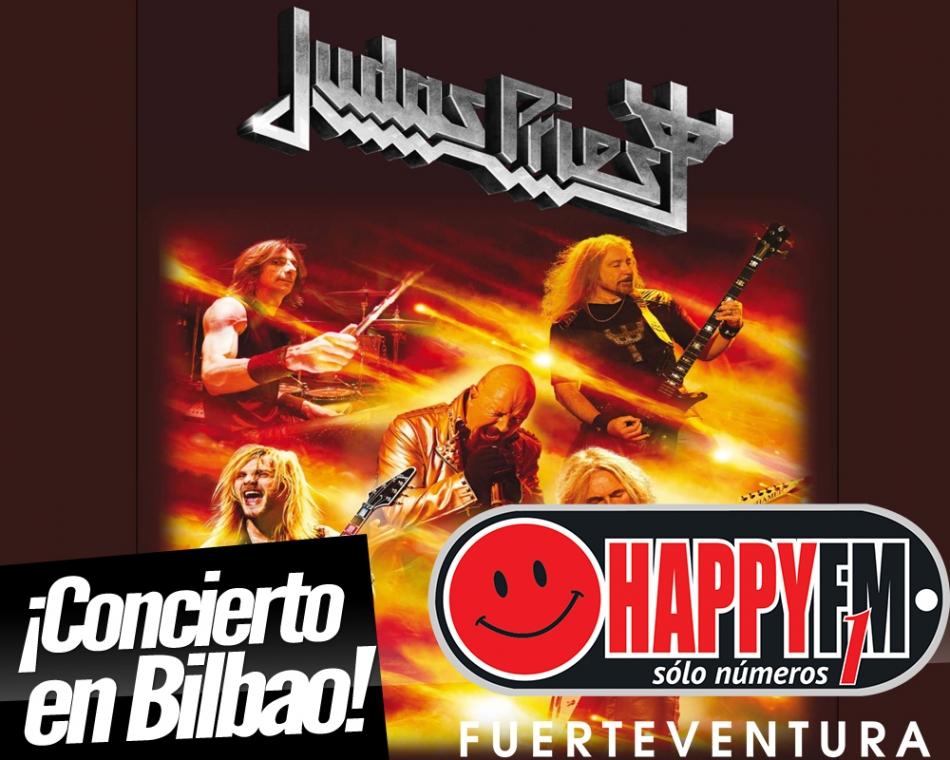 Judas Priest de concierto en nuestro país
