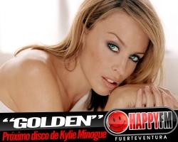 """""""Golden"""" es el título del próximo disco de Kylie Minogue"""
