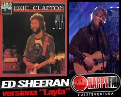 "Ed Sheeran versiona ""Layla"" de Eric Clapton"