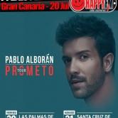 Pablo Alborán de concierto en Gran Canaria